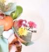 【開店・開院・開園・周年祝い】★店名・医院名入りミモザのバルーンアレンジ(卓上タイプ)【送料込み】