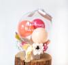 【開店・開院・開園・周年祝い】★店名・医院名入り飛び出るボックスアレンジ ロココ