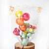 【開店・開院・開園・周年祝い】★店名・医院名入りビタミンカラーのバルーンアレンジ(卓上タイプ)