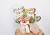 結婚祝い】飛び出るボックスアレンジ 想いを届ける宝箱ブルーバード