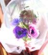 【母の日プレゼントフラワーバルーン】Thank you Mother's Day アネモネバルーンバンチ