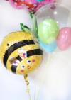 【歯科医院の開店・周年祝い】★医院名 入りはみがき あらいぐまさんのバルーンブーケ