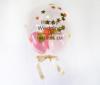 【結婚祝い・ウェルカムボードに】★お名前入り ★カラーが選べる きらきらバルーン 37cmサイズ(3個入り)