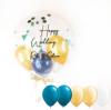 【結婚祝い・ウェルカムボードに】★お名前入り ★カラーが選べる きらきらバルーン 44cmサイズ(5個入り)